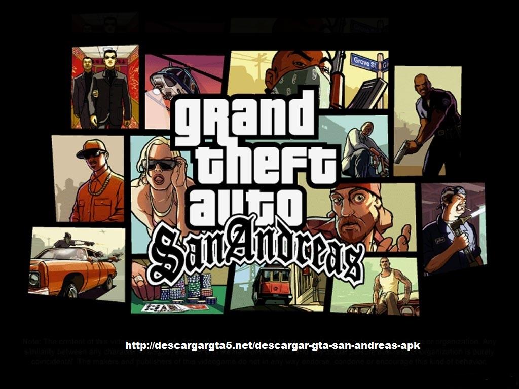 Descargar GTA San Andreas apk